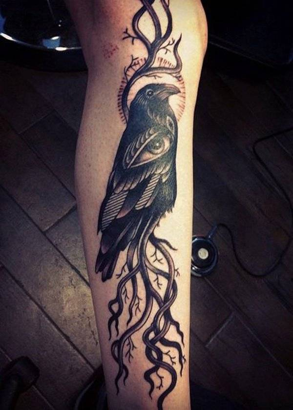 Raven-Tattoos-Raben-Idea-010