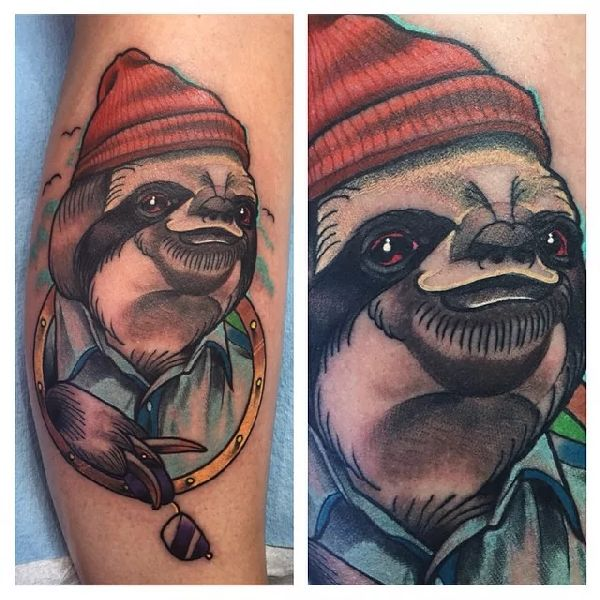 Sloth-Tattoo-Faultier-002-Brendan Browne 001