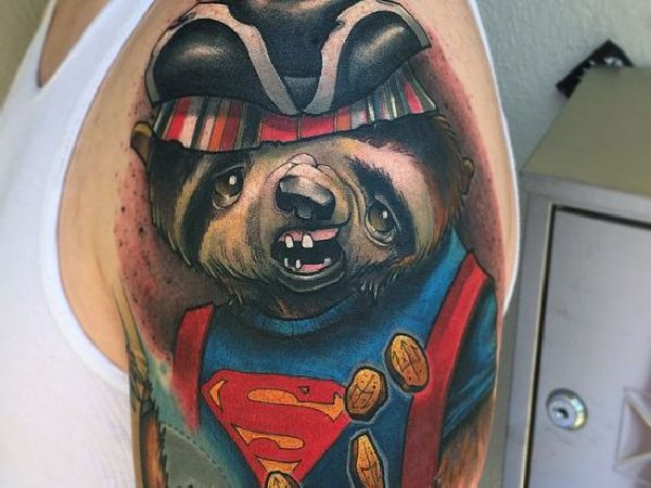Sloth-Tattoo-Faultier-006