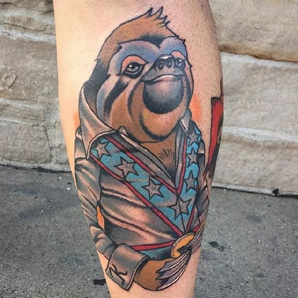 Sloth-Tattoo-Faultier-008-Nick Sarich 001