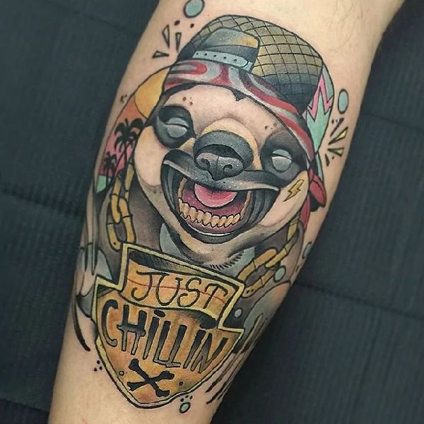 Sloth-Tattoo-Faultier-012-Guindo 001