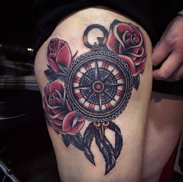 Tattoo-Compass-10