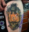 Tattoo, Lantern, Laterne, Tätowierung, Bedeutung