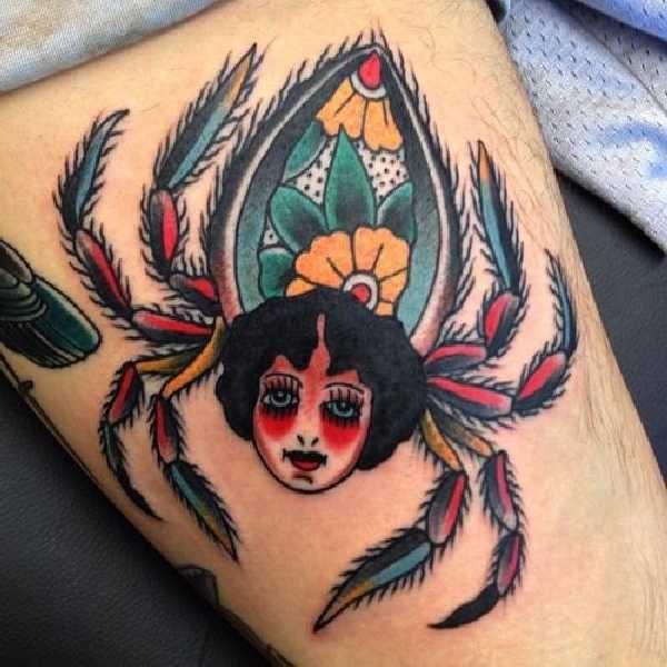 spider-tattoo-idea-08-Miguel Olascuaga