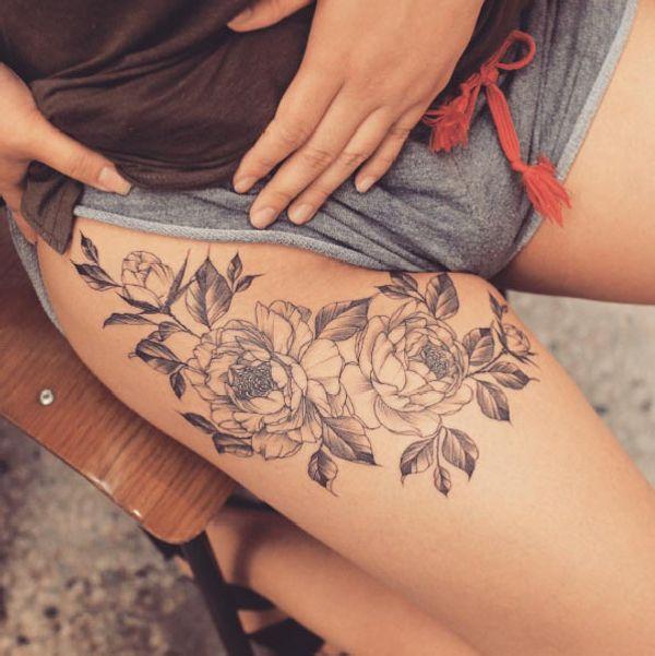 Oberschenkel Tattoo Ideen Part 2 Tattoo Spirit
