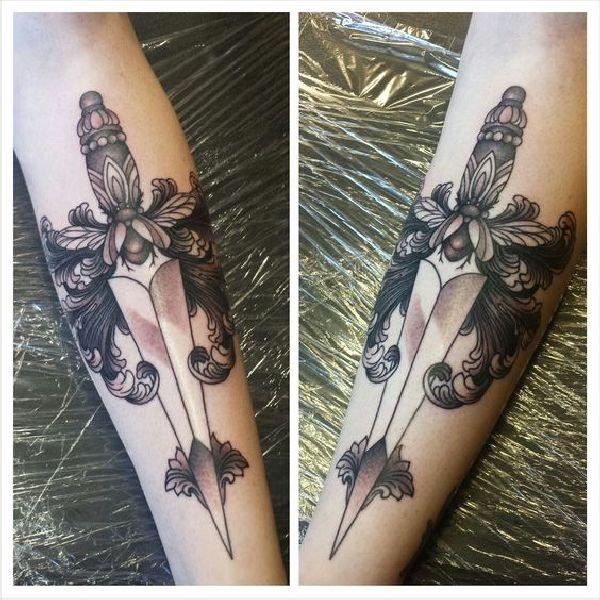Tattoo-Idea-Design-Dagger-Dolch-06-Willa Mae