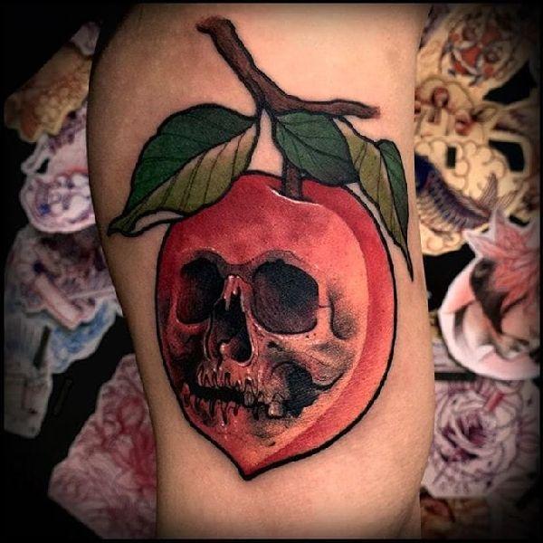 Tattoo-Idea-Design-Peach-03-Varo