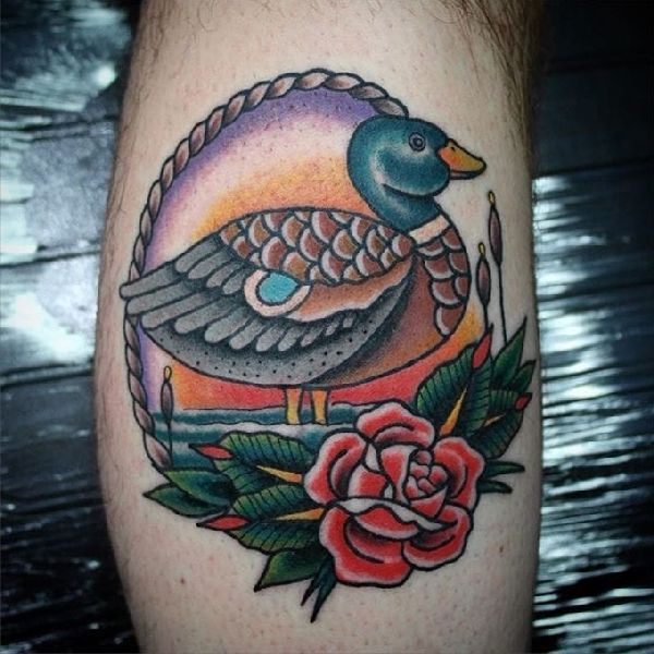 Tattoo-Idea-Duck-01-Lewis S Davies 02