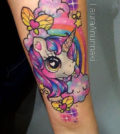 Tattoo, Idea, Design, Color, Anime, Comic, Tätowierung