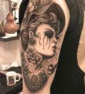 Tattoo, Idea, Nicky Kelis, Tätowierung