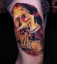 Tattoo, Design, Idea, Realistic, Tätowierung