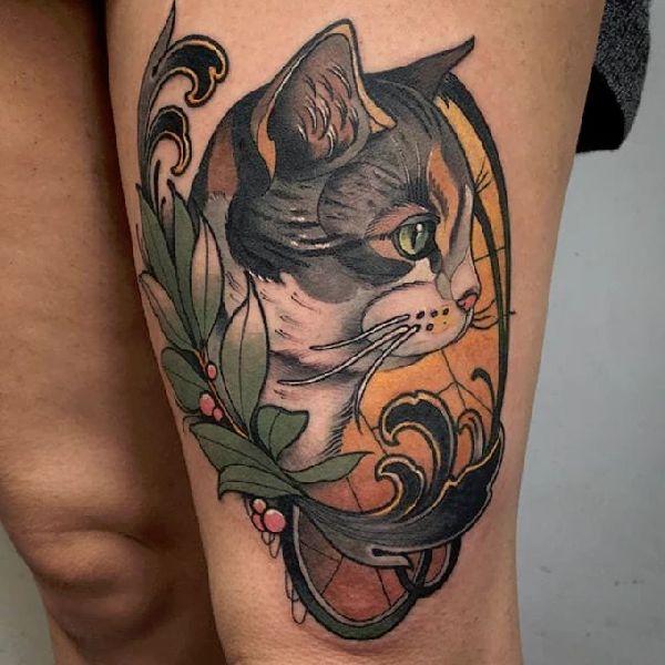 Neo Traditionals Tattoo Spirit