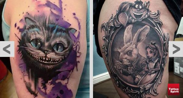 Alice im Wunderland – Tattoo Spirit