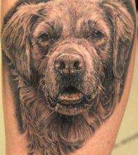 Tattoo, Motif, Idea, Dog, Realistic, Galerie