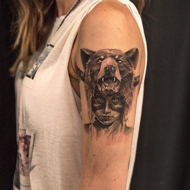 Bear-Tattoo-Design-Baer-005