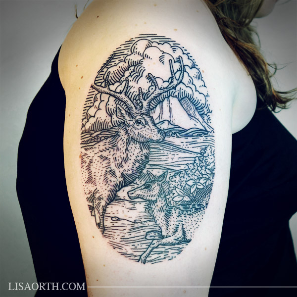 lisaorth_tattoo_jessica_deer_mountains