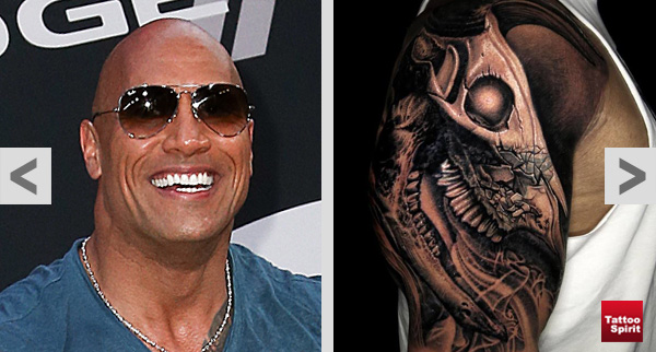 The Rock Johnsons Tattoo Endlich Fertig Tattoo Spirit