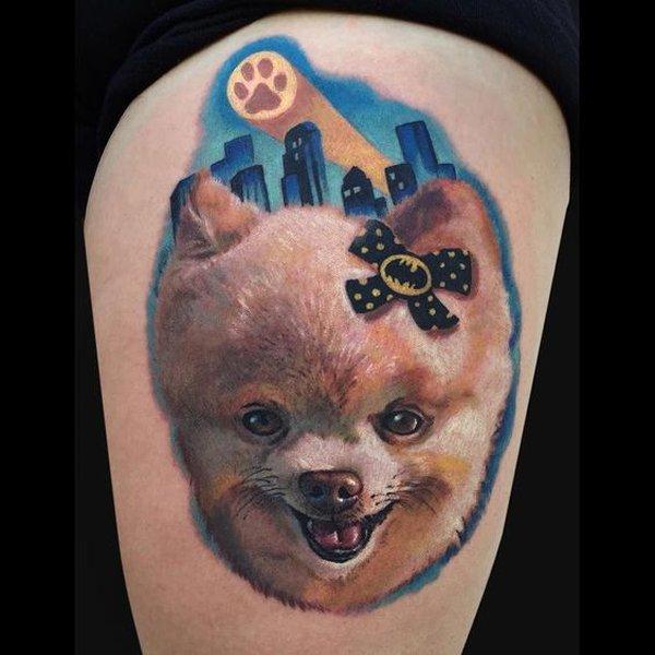 Pomeranian-Tattoo-04