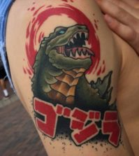 Tattoo-Godzilla-02-Sam Warren
