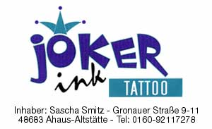 Joker Ink – Ahaus – VSK