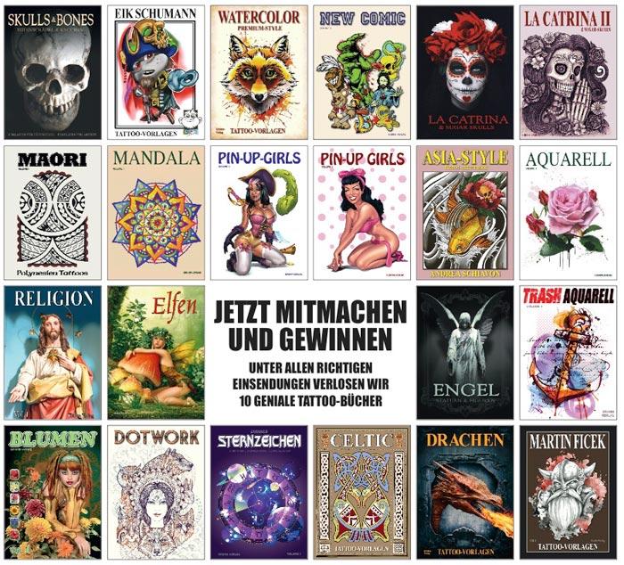 Buch-Kollage