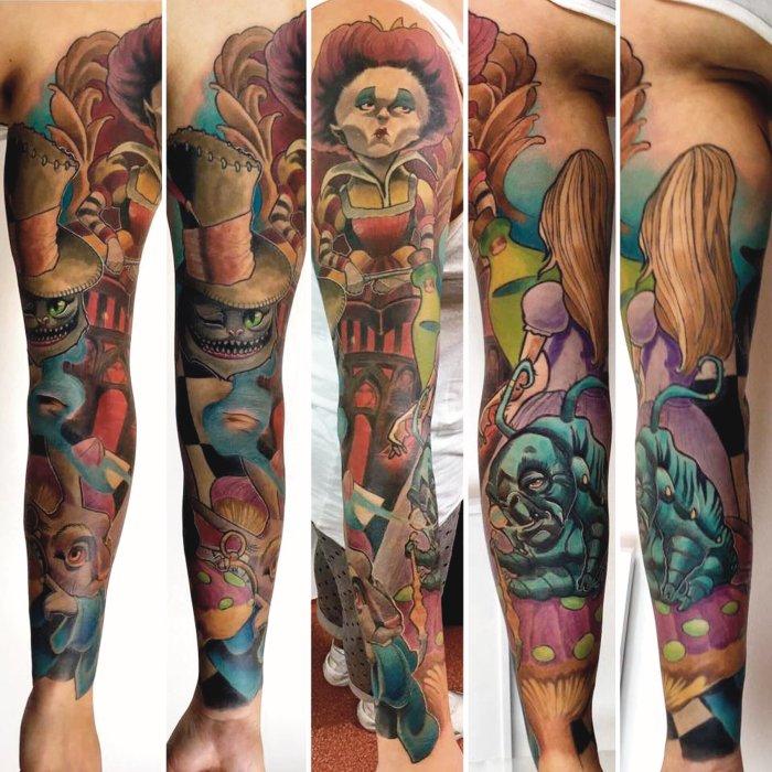 Französische lilie tattoo