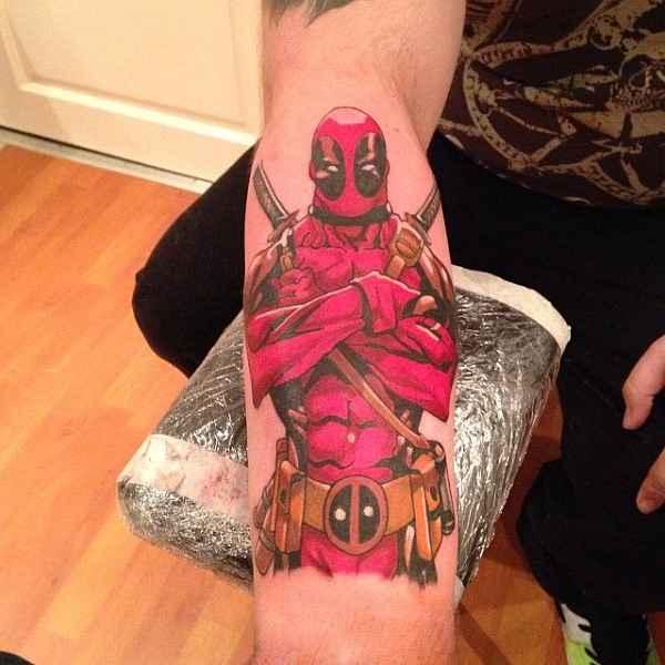 geniale deadpool tattoos tattoo spirit